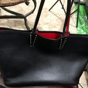 Louboutin's 'Cabata' spiked tote